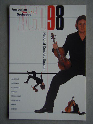 Australian Chamber Orchestra ACO 98 National Avant Card #1745 Postcard (P190)