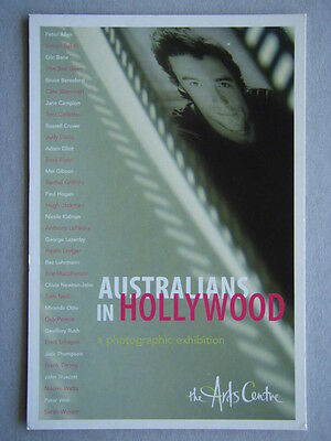 Australians In Hollywood - The Arts Centre Advert Avant Card #8745 Postcard