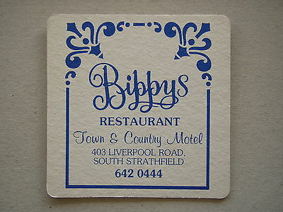 Bippys Restaurant Town & Country Motel South Strathfield 6420444 Coaster