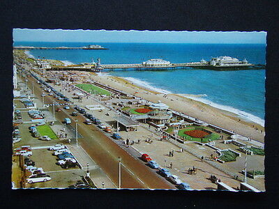 Brighton Seafront Looking East Postcard