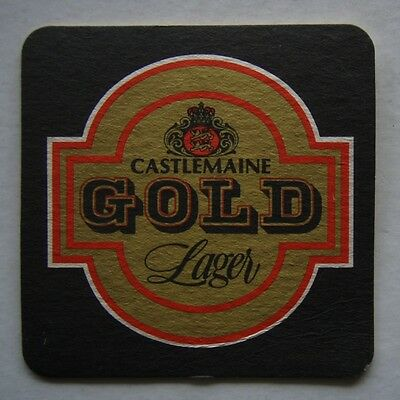 Castlemaine Gold Lager Coaster