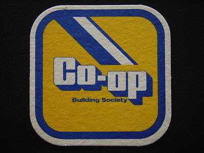 Co-Op Building Society Coaster