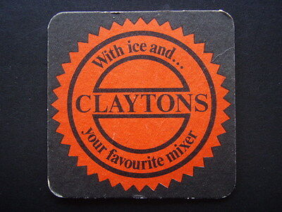 Claytons With Ice And Your Favourite Mixer Coaster