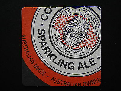 Coopers Bottle Fermented Family Brewed Sparkling Ale Australian Made Coaster