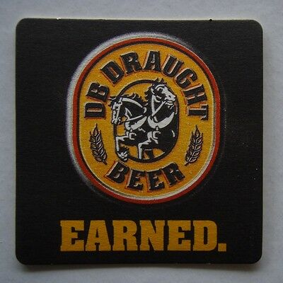 Db Draught Beer Earned Coaster