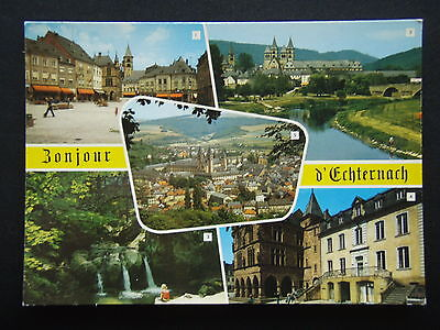 Echternach 6 Views Postcard