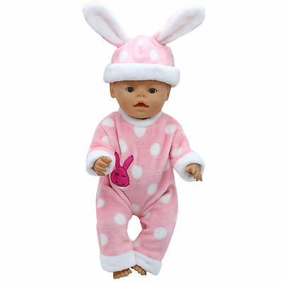 1set Doll Clothes Wear for 43cm Baby Born zapf (only sell clothes ) MG-215