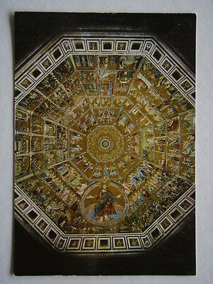 Florence Baptistery St John Interior Dome Mosaics Postcard