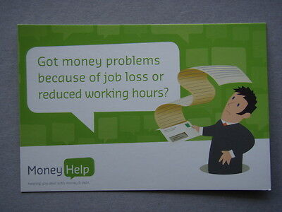 Got Money Problems Because Of Job Loss Avant Card #13820 Postcard