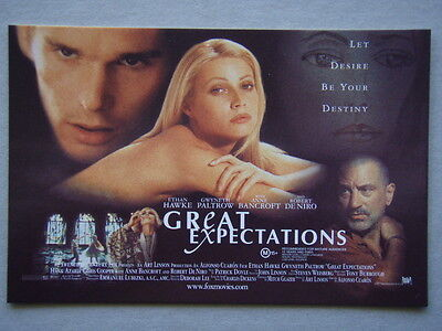 Great Expectations Let Desire Be Your Destiny Advert Avant Card #2118 Postcard