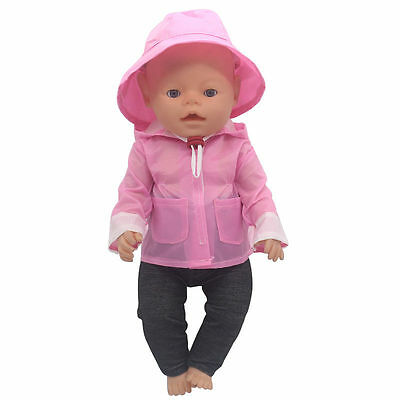 1set Doll Clothes Wearfor 43cm Baby Born zapf (only sell clothes ) MG-501