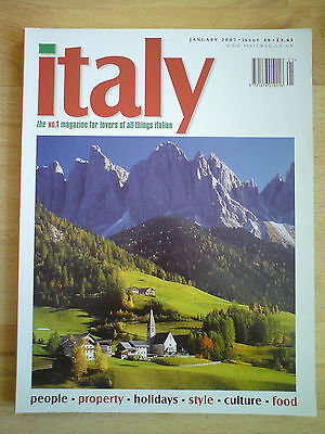 Italy magazine January 2007 issue 46