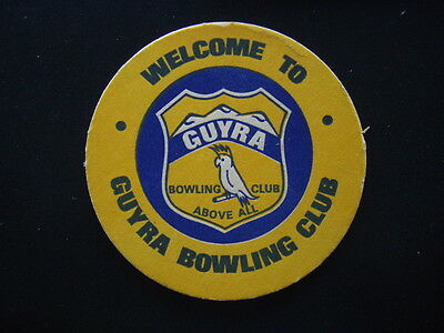 Guyra Bowling Club Above All Coaster