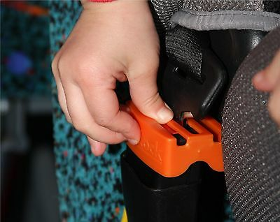 Auto BeltLock Stop Children Kids Opening Seat Belt Securing the Car seat