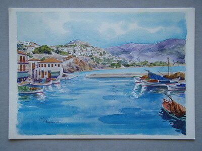 Images Of Greece MH 8520 E. Ehmiths Greeting Card
