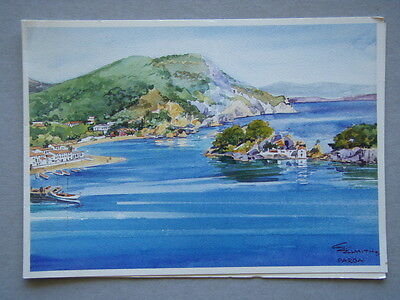 Images Of Greece MH 8121 Parga E. Ehmiths Greeting Card