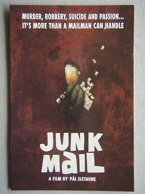Junk Mail A Film By Pal Sletaune Avant Card #2091 Postcard (P205)