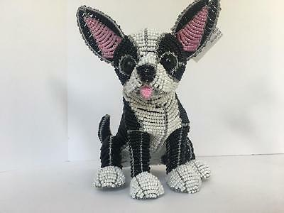 Chihuahua Beadworx Grass Roots Creations Glass Beads Hand Crafted Dog NWT