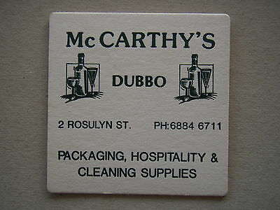 McCARHY'S PACKAGING HOSPITALITY CLEANING SUPPLIES 2 ROSULYN ST DUBBO COASTER