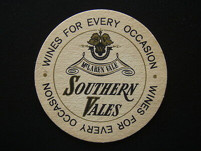 McLAREN VALE SOUTHERN VALES WINES FOR EVERY OCCASION COASTER