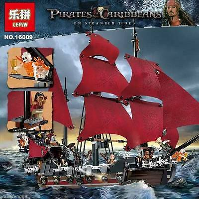 Anne Queen Revenge of the Pirates of the Caribbean Building Toys 1151pcs 16009