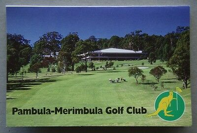 Pambula-Merimbula Golf Club Score Card