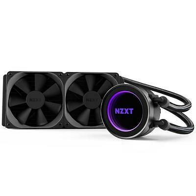 NZXT Kraken X52 240mm Liquid CPU Cooler with AM4 Bracket