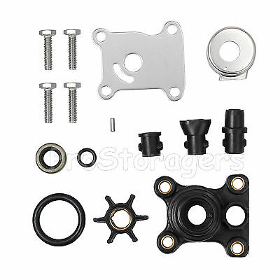 Water Pump Impeller Repair Kit 9.9hp & 15hp Impeller For Johnson Evinrude 394711