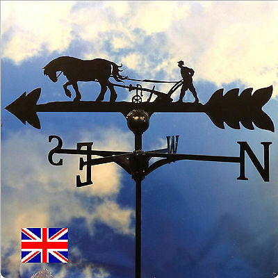 High Quality British Made Horse & Plough Weathervanes.(11/)