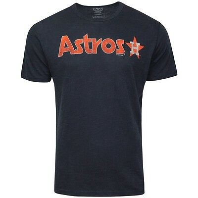 Mens 47 Brand Houston Astros T Shirts MLB Baseball Shirt Crew Top