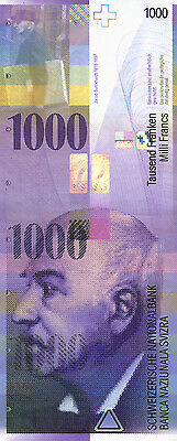 Schweiz / Switzerland 1000 Franken 1996 Pick 74a (1)