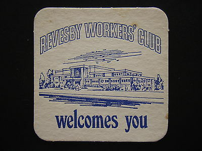 Revesby Workers' Club Blue Coaster
