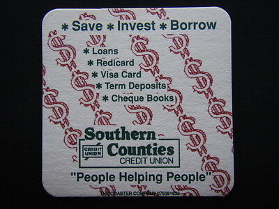 Southern Counties Credit Union Coaster