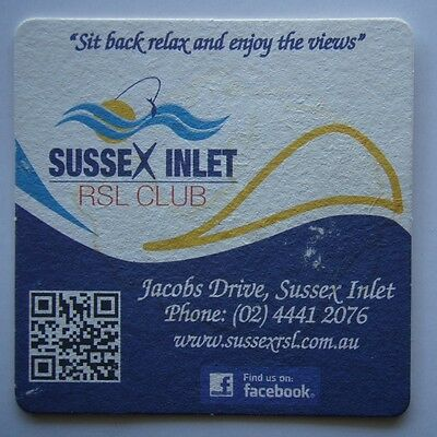 Sussex Inlet RSL Club Jacobs Drive 0244412076 Coaster (B267)