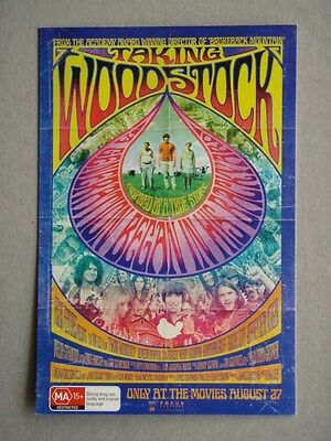 Taking Woodstock Ang Lee Advert Avant Card #13684 Postcard