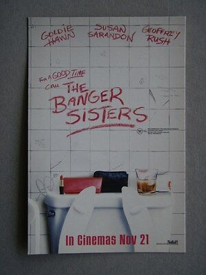 The Banger Sisters Advert Avant Card #7145 Postcard