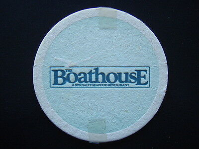 The Boathouse A Speciality Seafood Restaurant Coaster