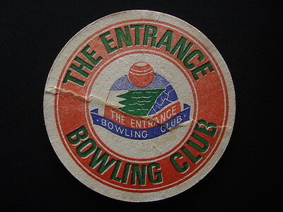 The Entrance Bowling Club Coaster