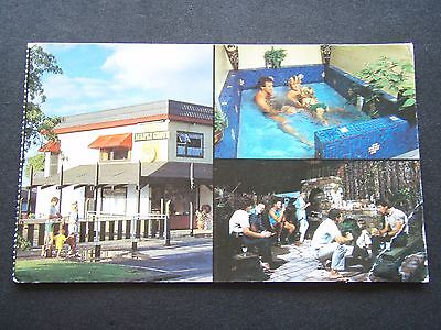 The Maple Grove Motel The Pride Of Rotorua 1990 Postcard
