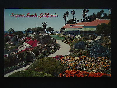 The Victor Hugo Inn Heisler Park Laguna Beach California Postcard
