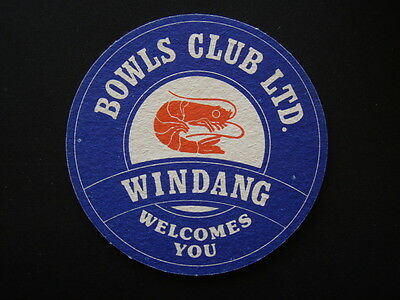 Windang Bowls Club Ltd Welcomes You Coaster