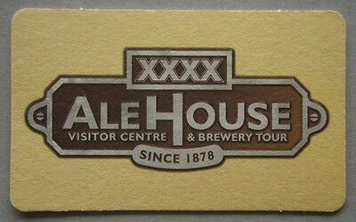 XXXX Ale House Visitor Centre & Brewery Tour Coaster