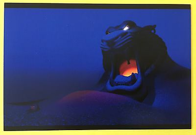 ALADDIN Film Frame POSTCARD Cave of Wonders DISNEY Tiger Head NEW 004