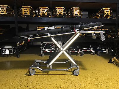 Ferno Powerflexx ST Power Cot Electric Stretcher Stat Track Platinum Free Ship!
