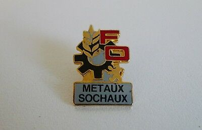 Pin's - Pins FO Metaux Sochaux Syndicat  ( PL 42 )