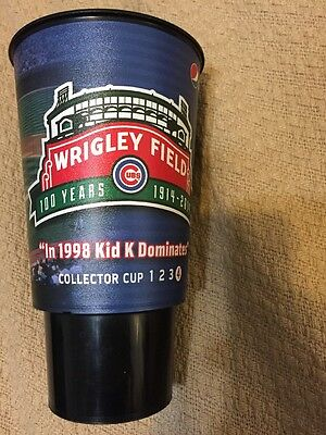 Chicago Cubs 2014 Collector Cup #4 Kerry Wood 20 Ks