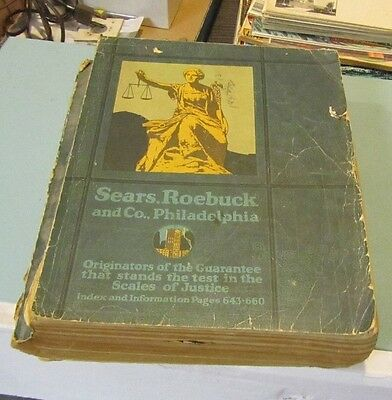 Original 1921 Sears Roebuck and Company Department Store Catalog No. 143 1266pg