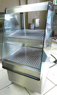 Structural Concepts Food Display Heated Merchandiser Cabinet Stainless FS02453W