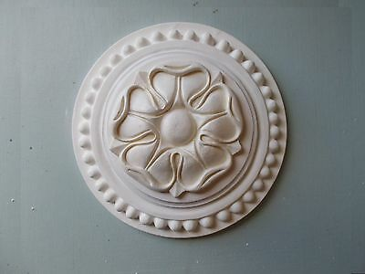 Silicone Rubber Mould Tudor Rose Ceiling Rose Wall Plaque