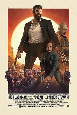 Logan 2017 Hugh Jackman Movie Poster Print A0-A1-A2-A3-A4-A5-A6-MAXI 375